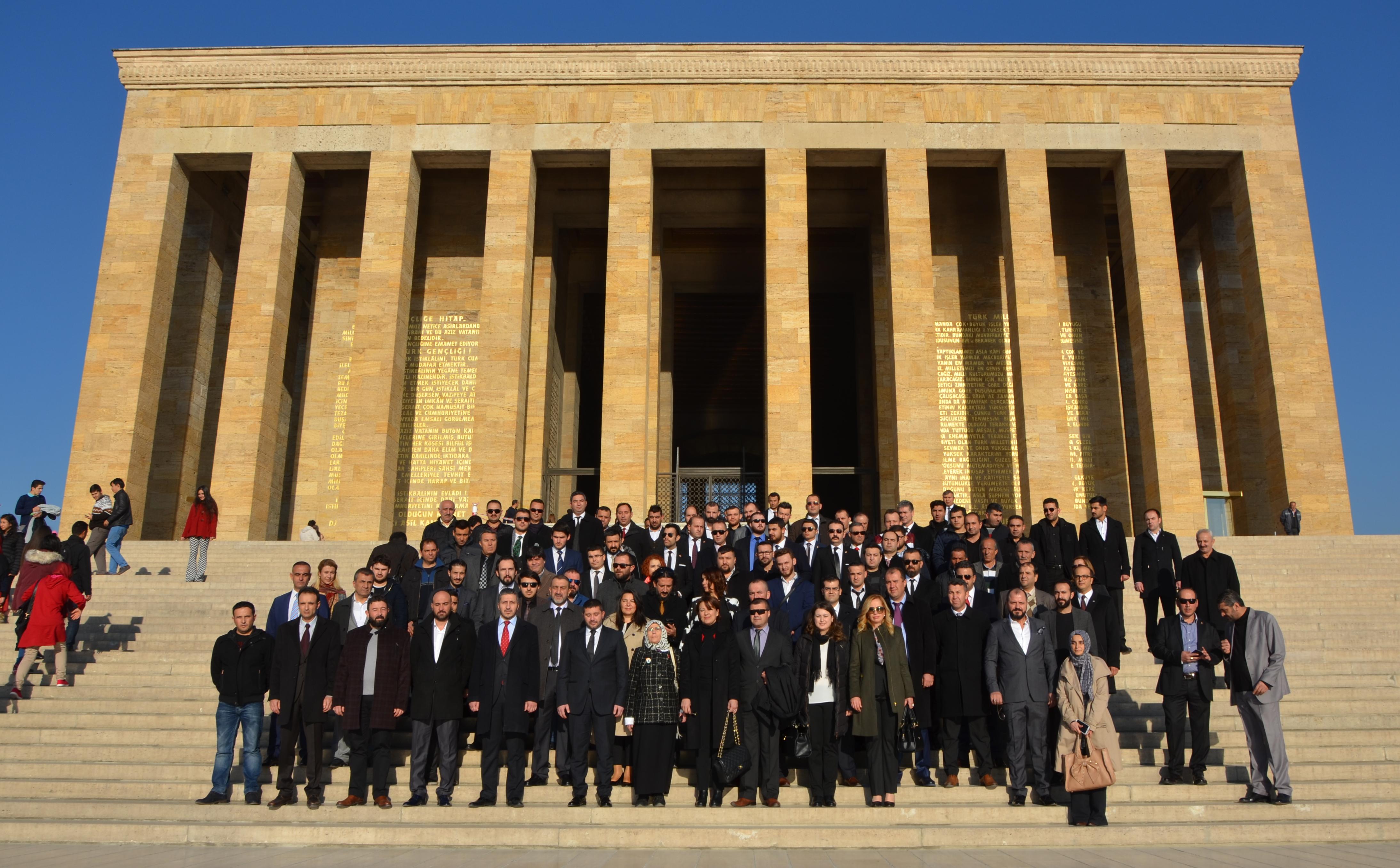 Toplumsal Diriliş Hareketi Derneği - Anıtkabir Ziyareti