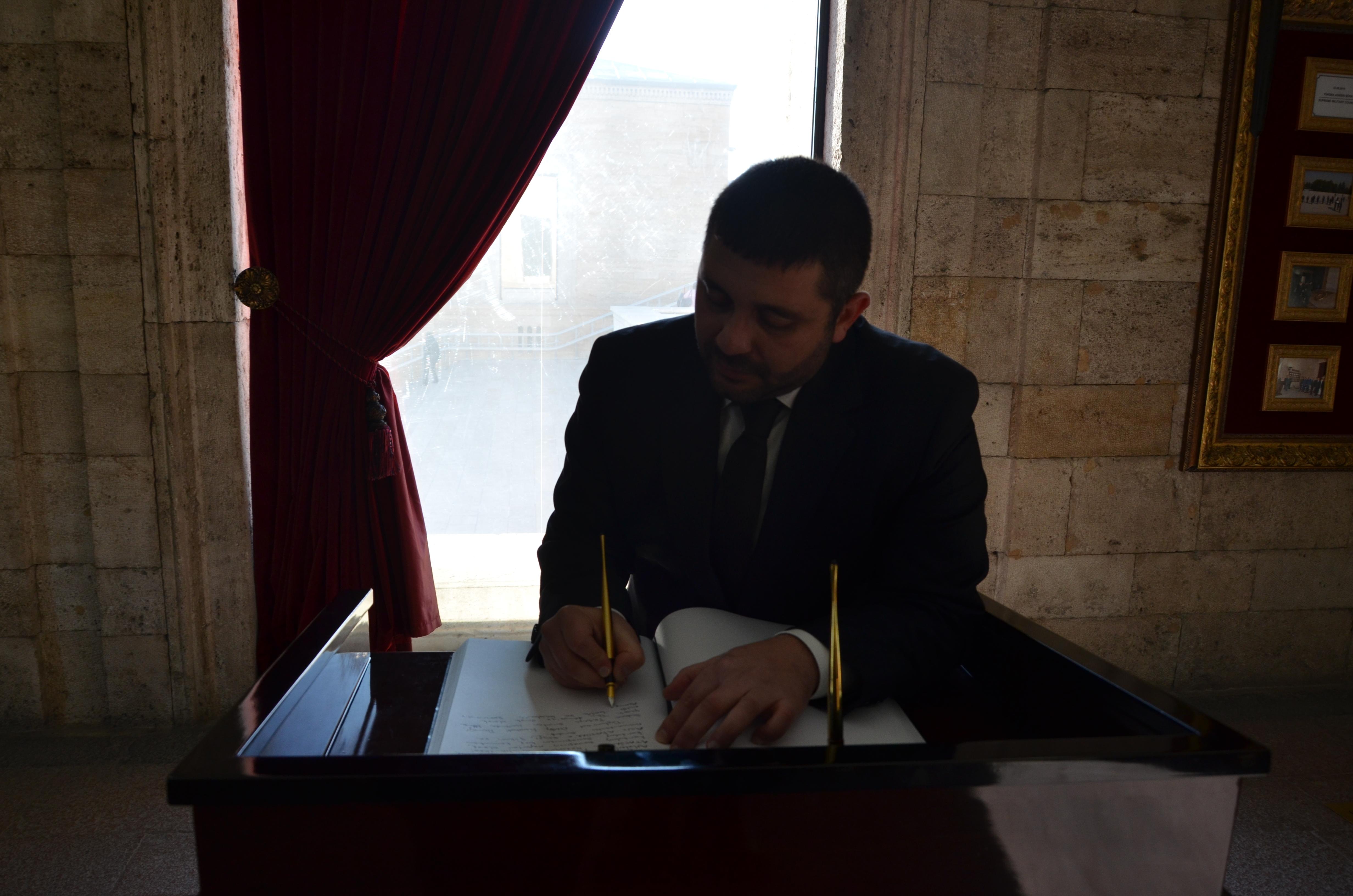 Toplumsal Diriliş Hareketi Derneği Başkanı Bilal Ulusan
