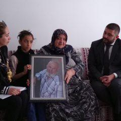 Şehit Osman Arslan'ın ailesine ziyaret