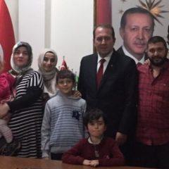 Ak Parti Genel Başkan Yardımcısı Harun Karacan Derneğimizi ziyaret etti