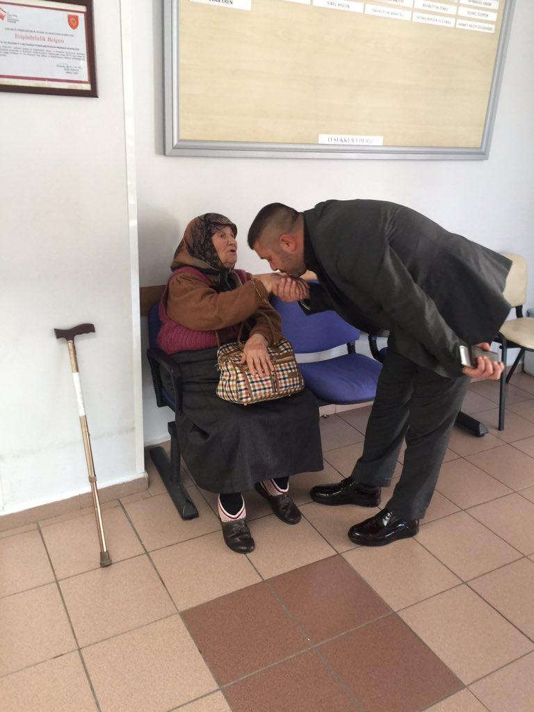 75.yıl Huzurevinde Yaşlılarımızı Ziyaret Ettik