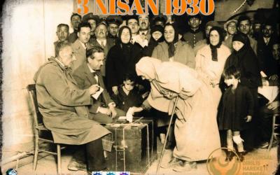 TÜRK KADINLARINA SEÇME VE SEÇİLME HAKKI TANINMASININ 89. YILI