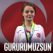 Milli Yüzücümüz Sümeyye Boyacı Dünya Şampiyonu